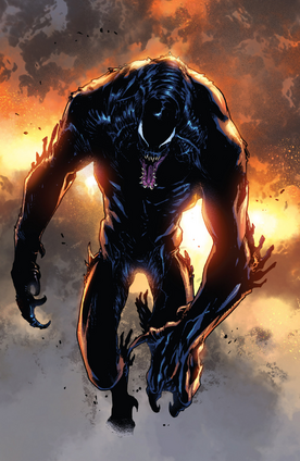 Conrad Marcus (Earth-1610) and Venom (Symbiote) (Earth-1610) from Ultimate Comics Spider-Man Vol 1 19 0001
