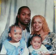 Me and my family in 2002