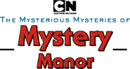 The Mysterious Mysteries of Mystery Manor logo 3