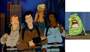 Peter, Ray, Egon, and Winston