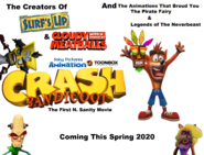 Crash Bandicoot The First N. Sanity Movie (2020) Poster 2