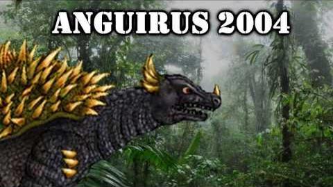 Anguirus 1965 & 2004 roars