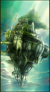 Castle in the sky by kimag3500-1-