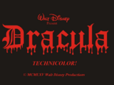 Dracula (1965 Disney Animated Film)