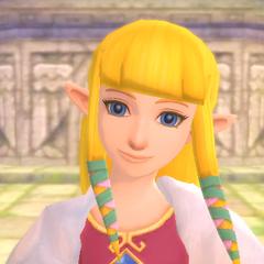 Princess Zelda as Daisy
