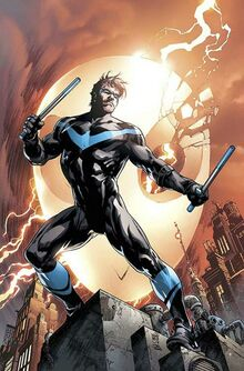 Nightwing Vol 4 1 Textless Variant-0
