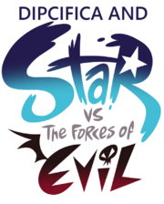 Dipcifica and Star vs. the Forces of Evil logo