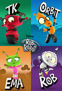 Disney Rob the Robot poster 5