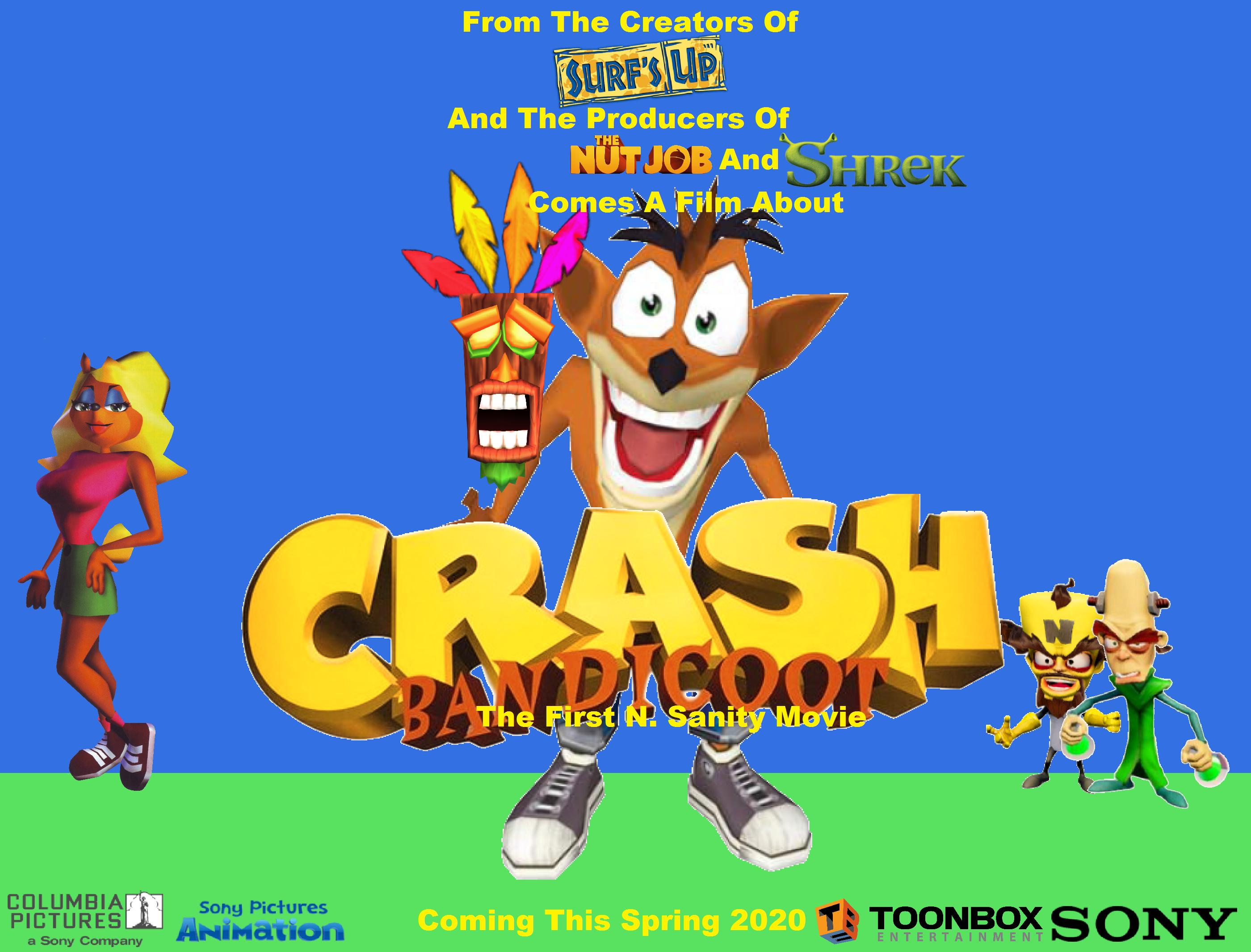 crash bandicoot the first n sanity movie 2020 film idea wiki
