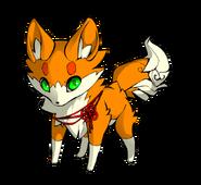 Ruby the Star Sapphire Fox