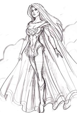 Supergirl by johnnyharadrim