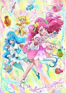 Glitter Force Natural Warriors Poster