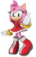 3D Amy Rose