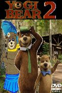 Yogi Bear 2 2017 DVD cover