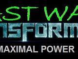 Beast Wars Transformers: Maximal Power