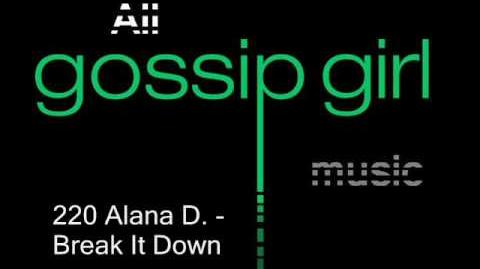 Alana D. - Break It Down