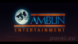 Amblin entertainment logo 2015