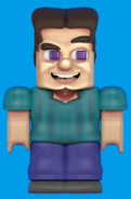 Grotesque Steve Smash render