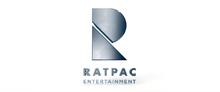 Ratpac entertainment logo storks