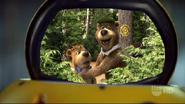Yogi Bear and Boo Boo in Weebo's Screen