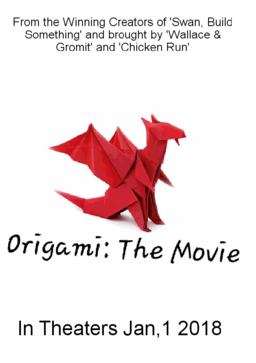 Origami The Movie Poster -2