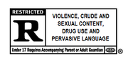 R-Rated Logo