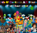 Kids & Cartoon All-Stars For Character Double Feature
