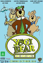 Yogi Bear Begins 2016 Australian Poster