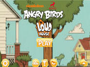 Angry Birds The Loud House Menu
