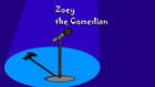 Zoey the Comedian title card