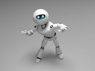 Rigged-robot-character-3d-model-low-poly-rigged-max-obj-fbx-mtl