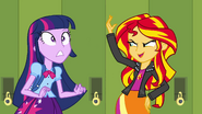 Sunset Shimmer mit Twilight - Equestria Girls Der Film - de eg