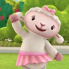 Lambie as Little Lamb