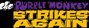 The Purple Monkey Strikes Again Logo