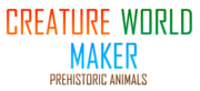 Creature World Maker Prehistoric Animals Logo