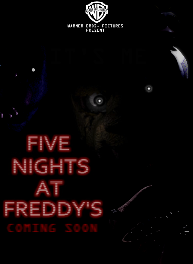 image five nights at freddys warner bros film poster png idea