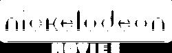 Nickelodeon Movies Fan logo 2016 in white