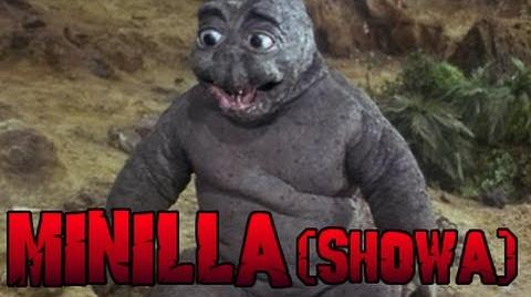 Minilla Roars (Showa Series)