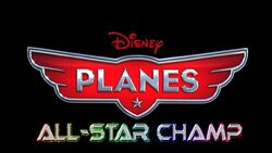 Planes all star champ logo