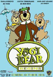 Yogi Bear Begins 2016 Poster