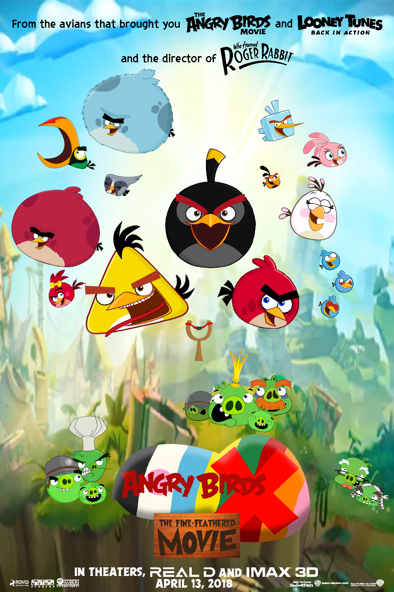 Angry Birds X The Fine Feathered Movie Idea Wiki Fandom
