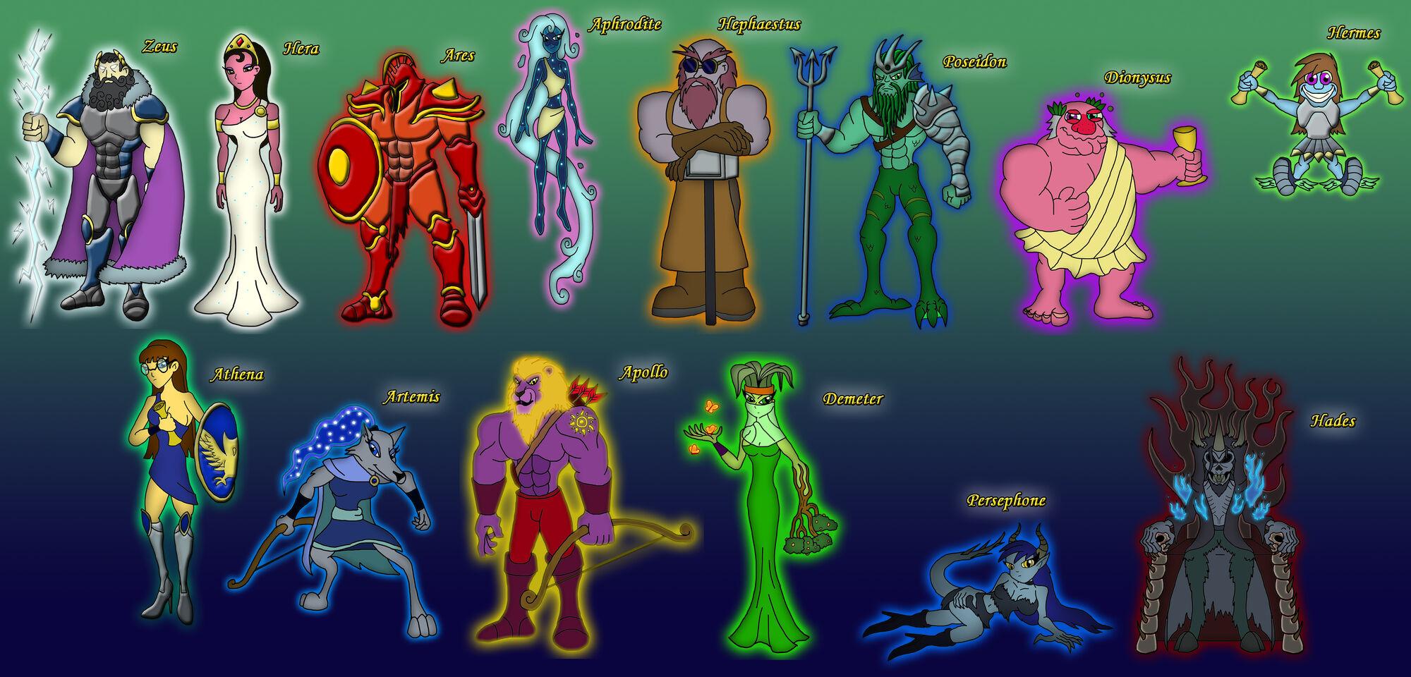 The 12 Olympians | Idea Wiki | FANDOM powered by Wikia