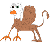 Soundshock the Griffin (Mythical version)