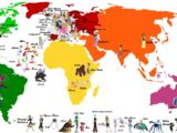 Disney Females World Map