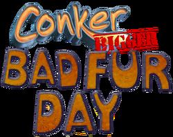 Conker Bigger Bad Fur Day Logo Final