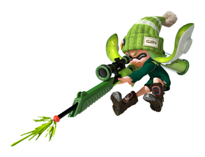 Susie(Lime Green Inkling)