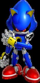 Metal Sonic Pose