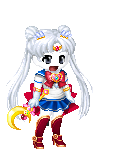 Cloudy J as Sailor Moon