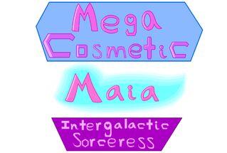 Mega Cosmetic Maia Intergalactic Sorceress logo