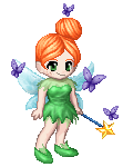 Wendy as Tinkerbell